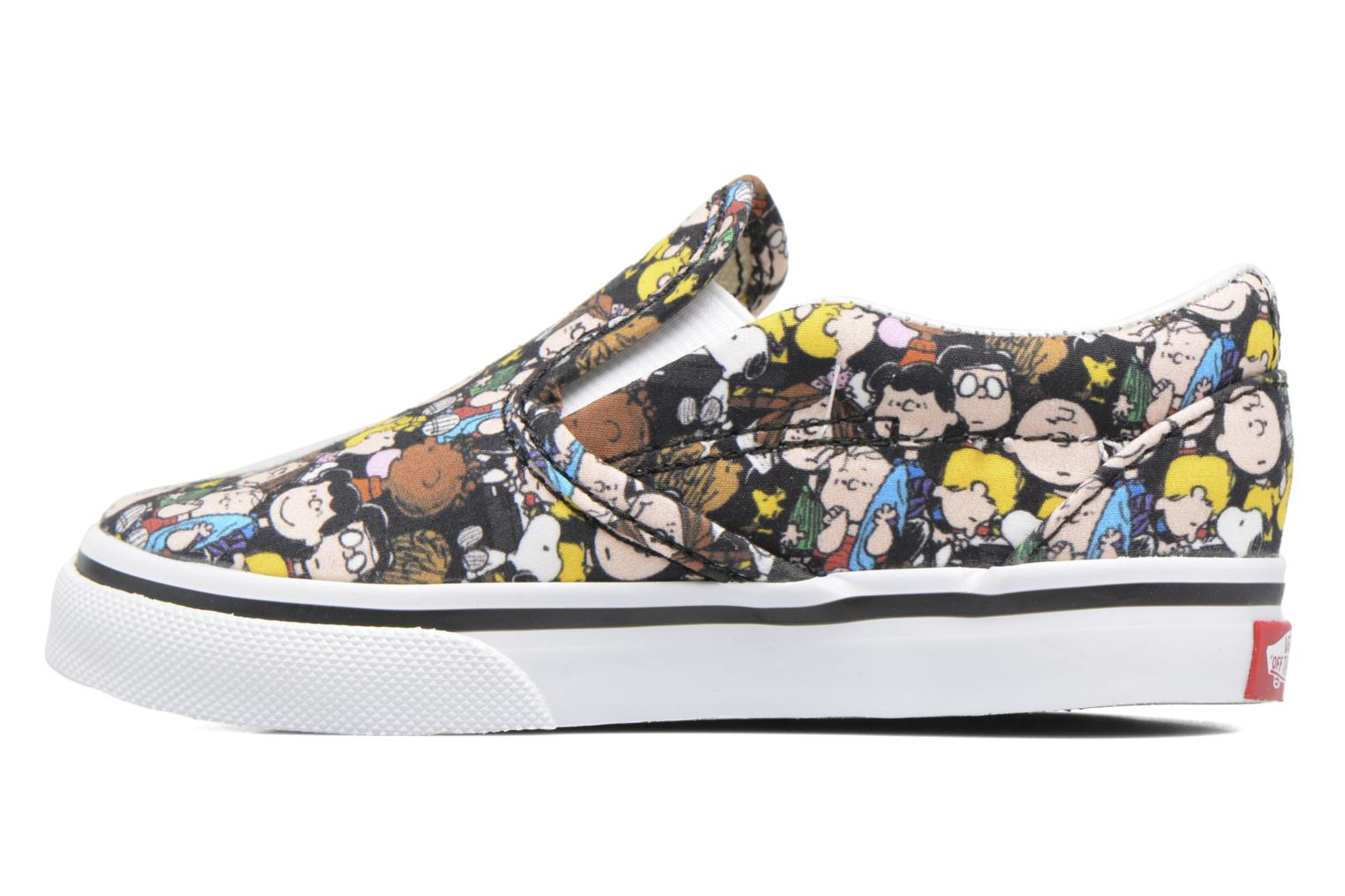 Classic Slip-On E The Gang/Black (Peanuts)