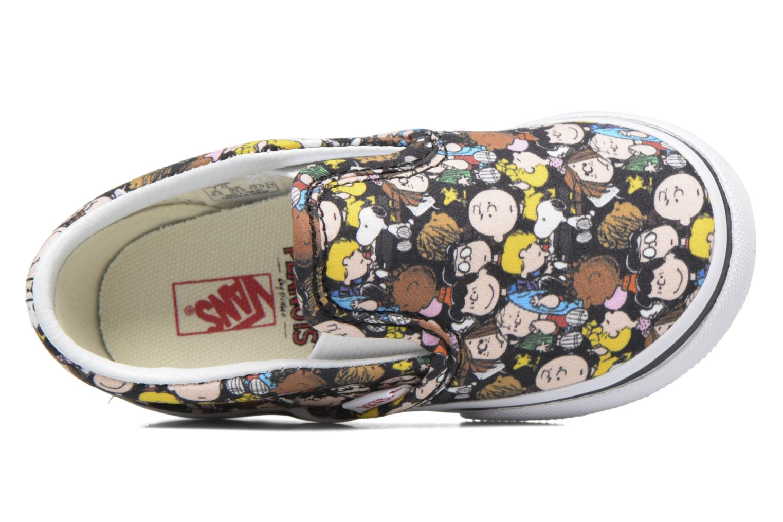 Sneaker Vans Classic Slip-On E mehrfarbig ansicht von links
