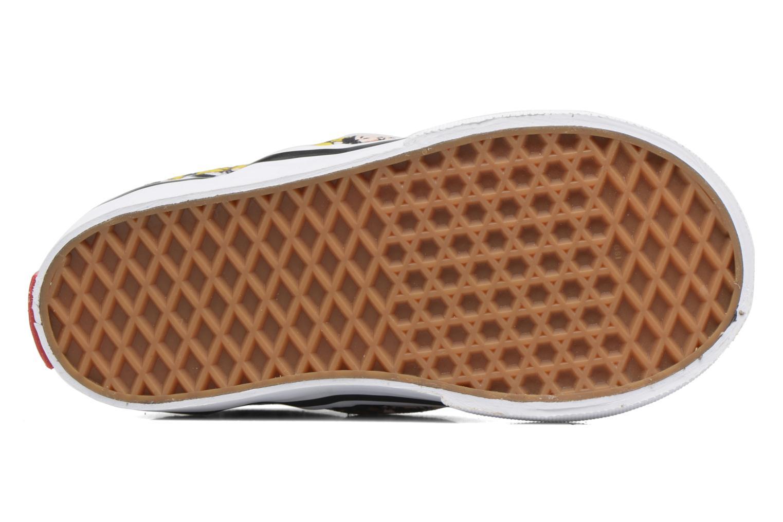 Baskets Vans Classic Slip-On E Multicolore vue haut