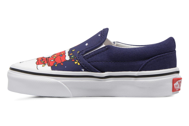 Sneakers Vans Classic Slip-On E Blå bild från framsidan
