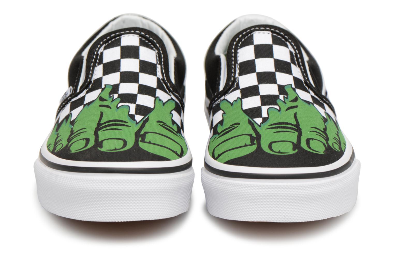 Baskets Vans Classic Slip-On E Noir vue portées chaussures