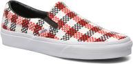 Checker Plaid Red