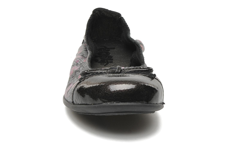 Ballerines Bopy Sofiane Gris vue portées chaussures