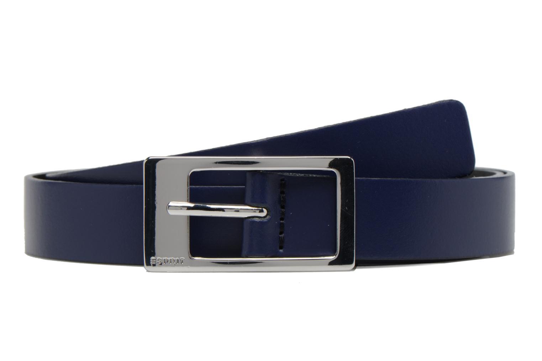 Gamila Leather Belt 20mm Navy