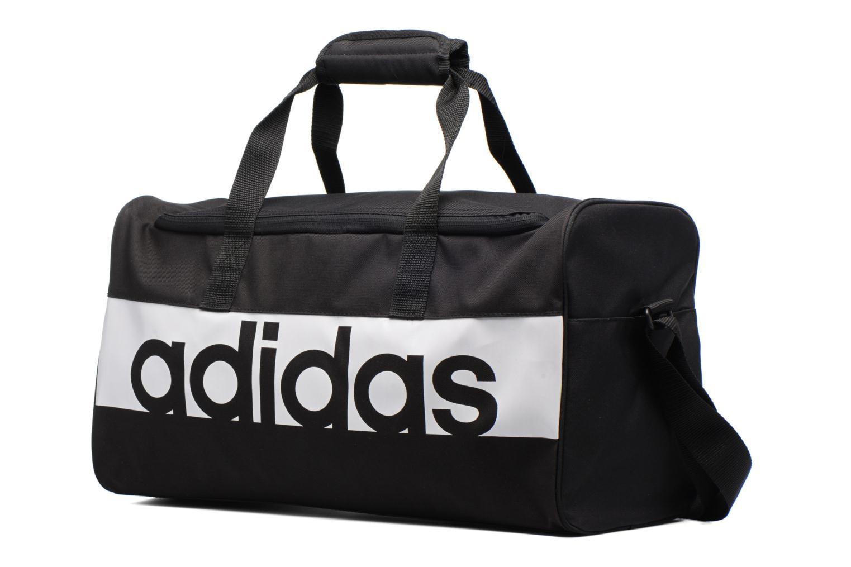 Sacs de sport Adidas Performance Lin Per TB S Noir vue portées chaussures