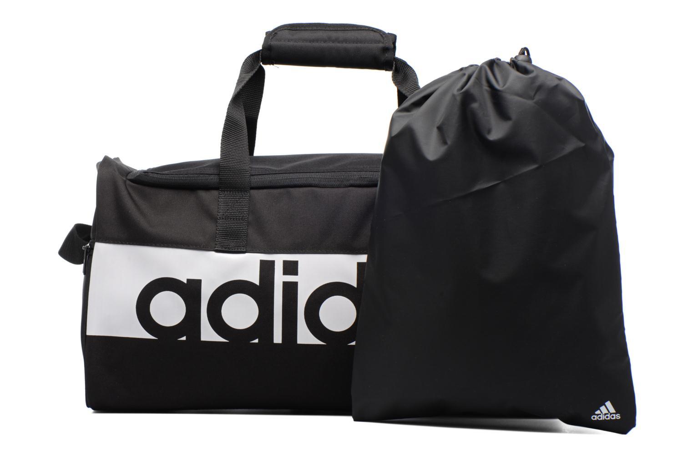 Sacs de sport Adidas Performance Lin Per TB S Noir vue gauche