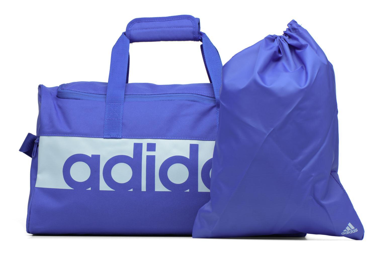 Sporttaschen Adidas Performance Lin Per TB S blau ansicht von links