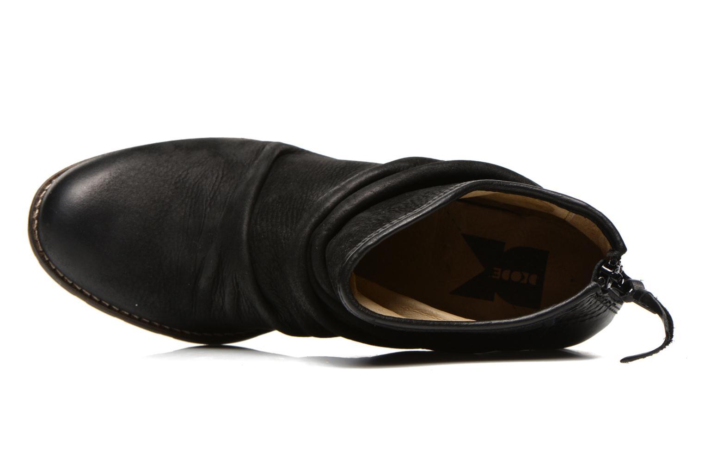 Bottines et boots Dkode Carter Noir vue gauche
