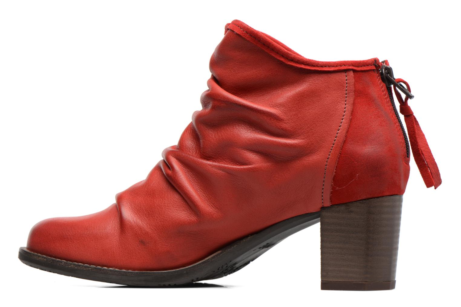 Ankle boots Dkode Carter Red front view