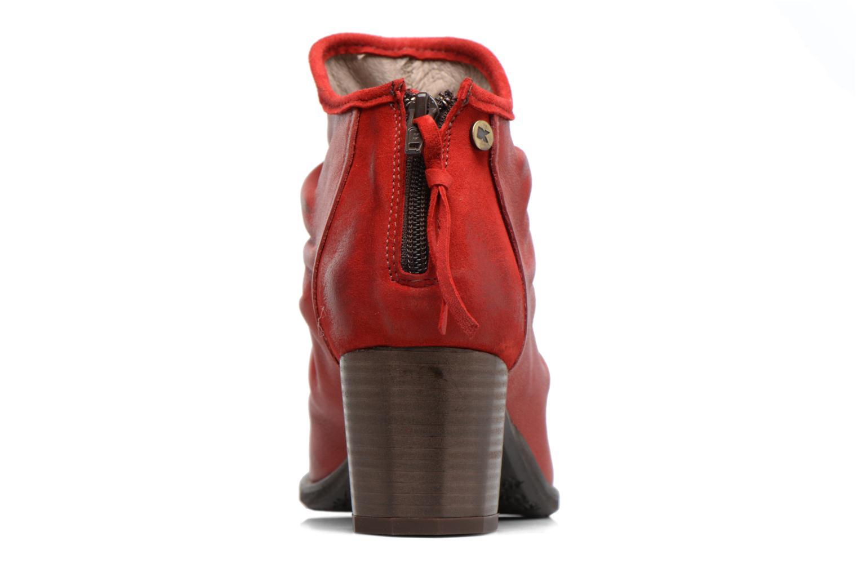 Bottines et boots Dkode Carter Rouge vue droite