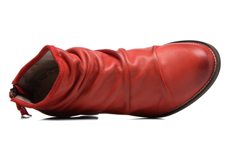 Bottines et boots Dkode Carter Rouge vue gauche