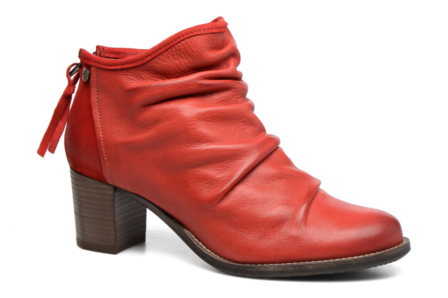 Ankle boots Dkode Carter Red detailed view/ Pair view