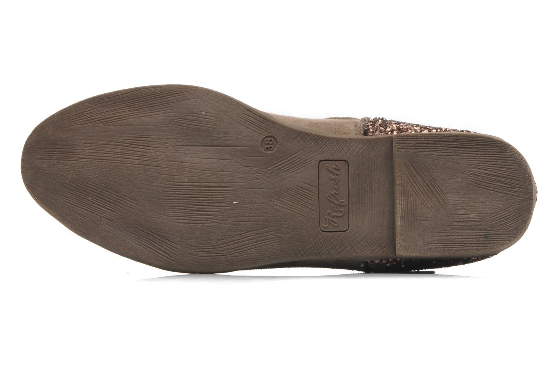 Stiefeletten & Boots Refresh Mademama braun ansicht von oben