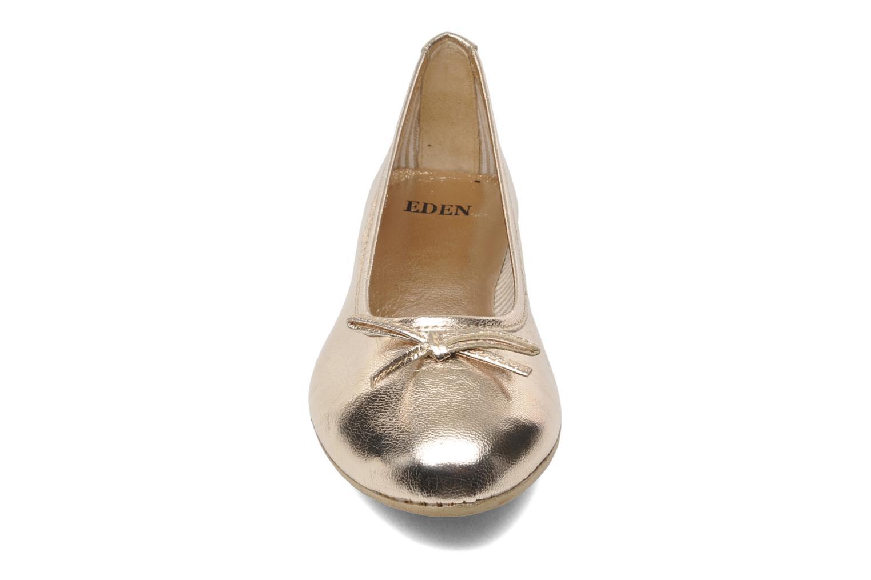 Ballerines Eden Lylou Or et bronze vue portées chaussures