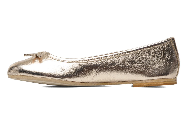 Ballerinas Eden Lylou gold/bronze ansicht von vorne
