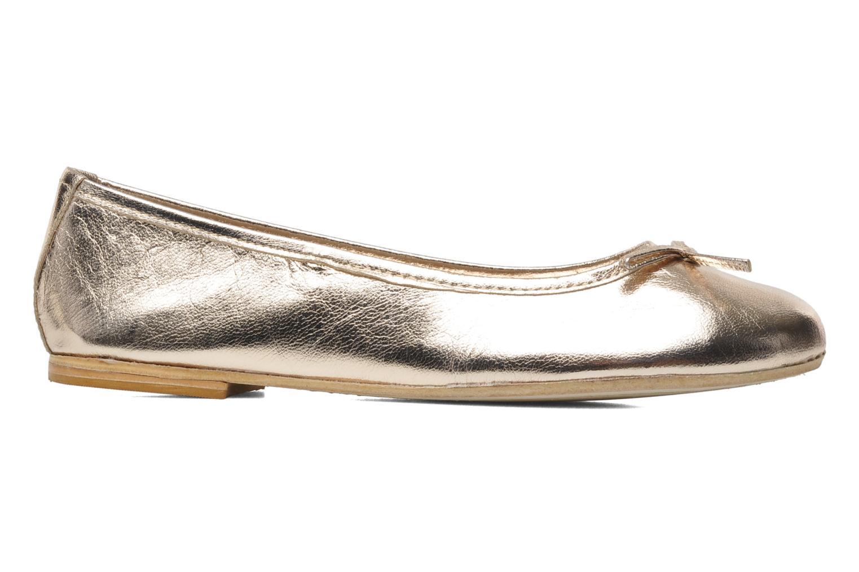 Ballerinas Eden Lylou gold/bronze ansicht von hinten
