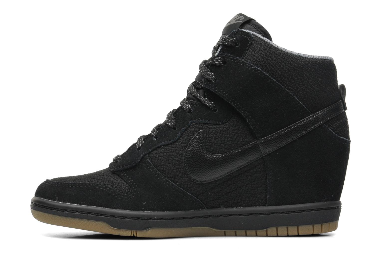 Baskets Nike Wmns Dunk Sky Hi Essential Noir vue face