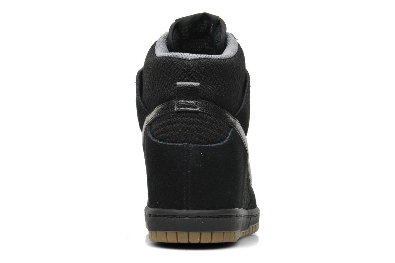 Baskets Nike Wmns Dunk Sky Hi Essential Noir vue droite