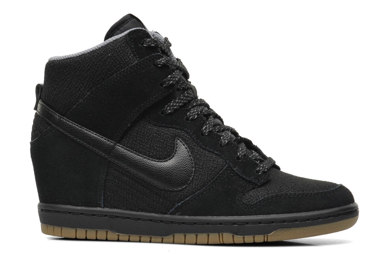 Baskets Nike Wmns Dunk Sky Hi Essential Noir vue gauche