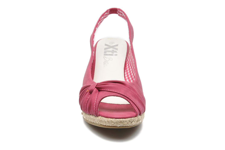 Sandales et nu-pieds Xti Sofia Rose vue portées chaussures