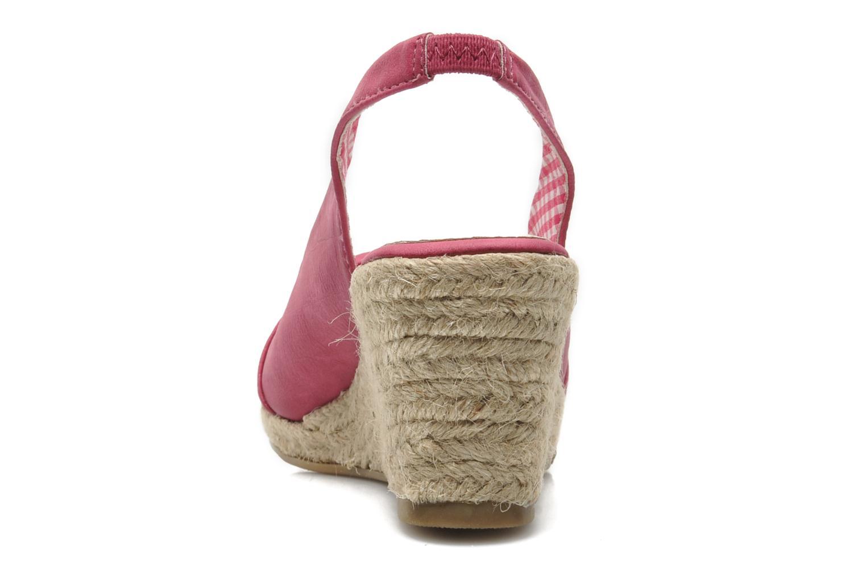Sandales et nu-pieds Xti Sofia Rose vue droite