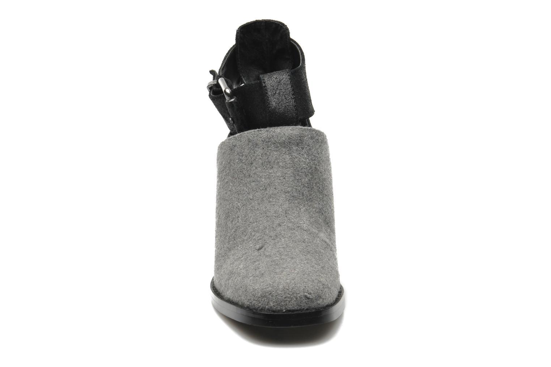 Boots en enkellaarsjes Shellys London Icess Grijs model