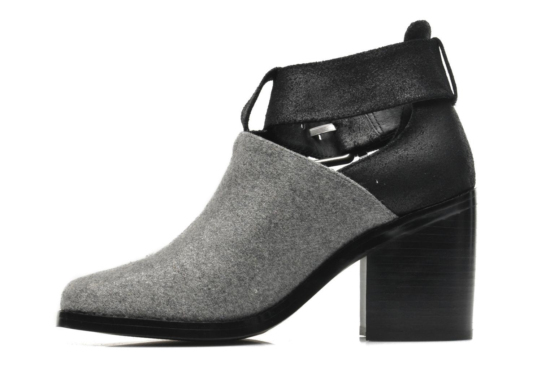 Boots en enkellaarsjes Shellys London Icess Grijs voorkant