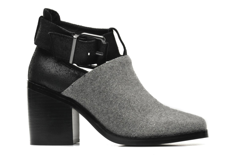 Boots en enkellaarsjes Shellys London Icess Grijs achterkant