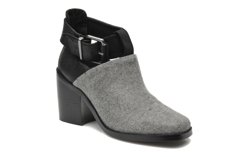 Boots en enkellaarsjes Shellys London Icess Grijs detail