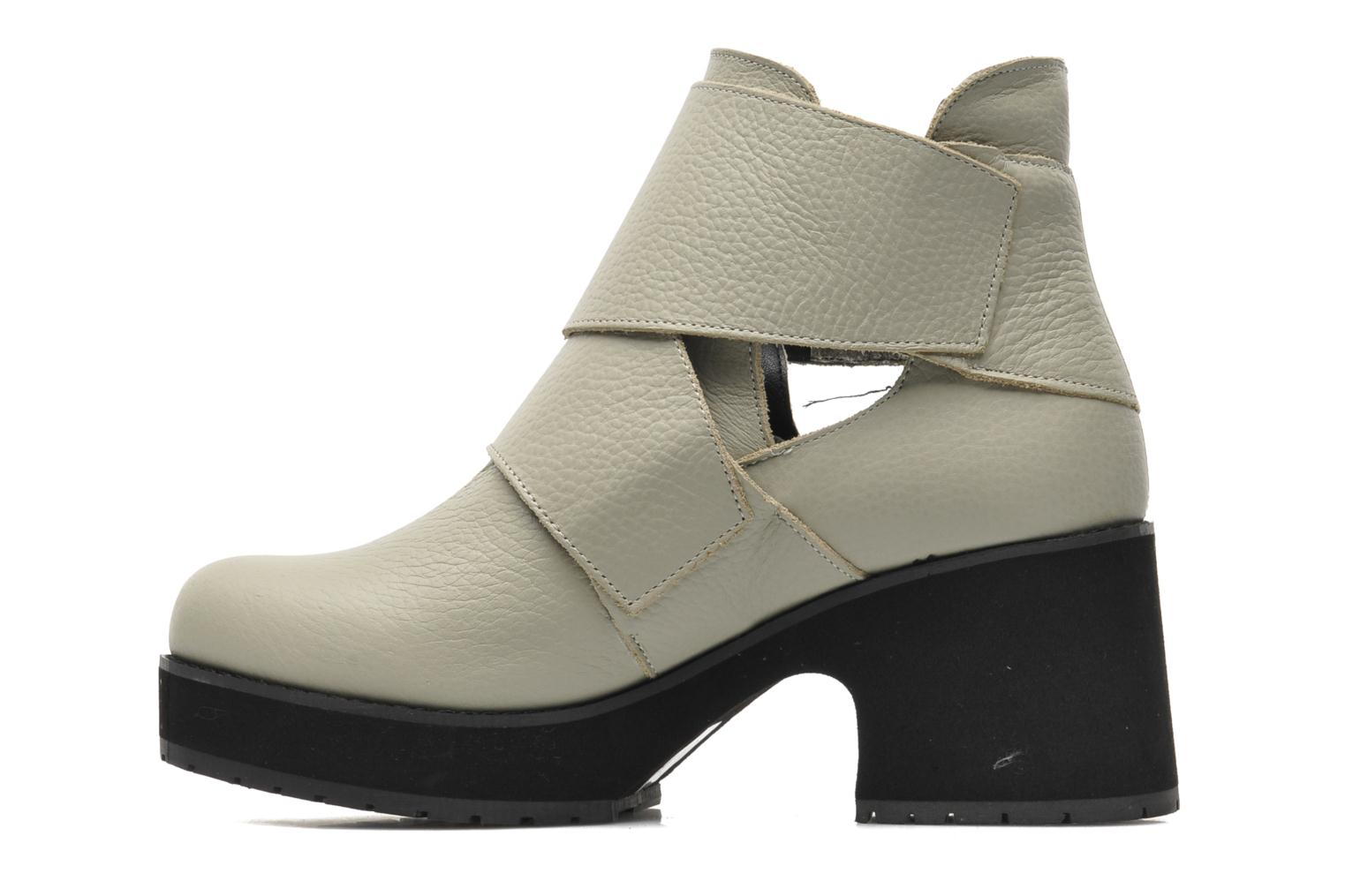 Ankle boots Shellys London Mieri Beige front view
