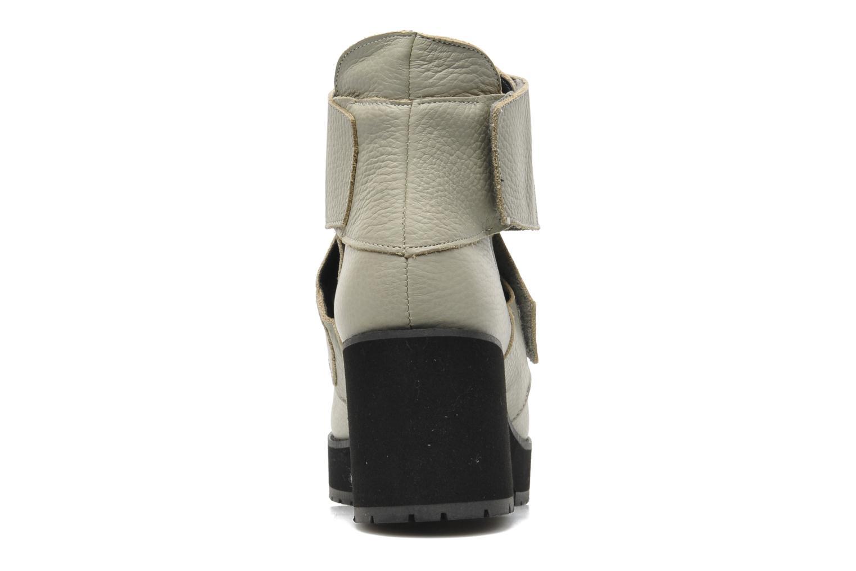 Bottines et boots Shellys London Mieri Beige vue droite