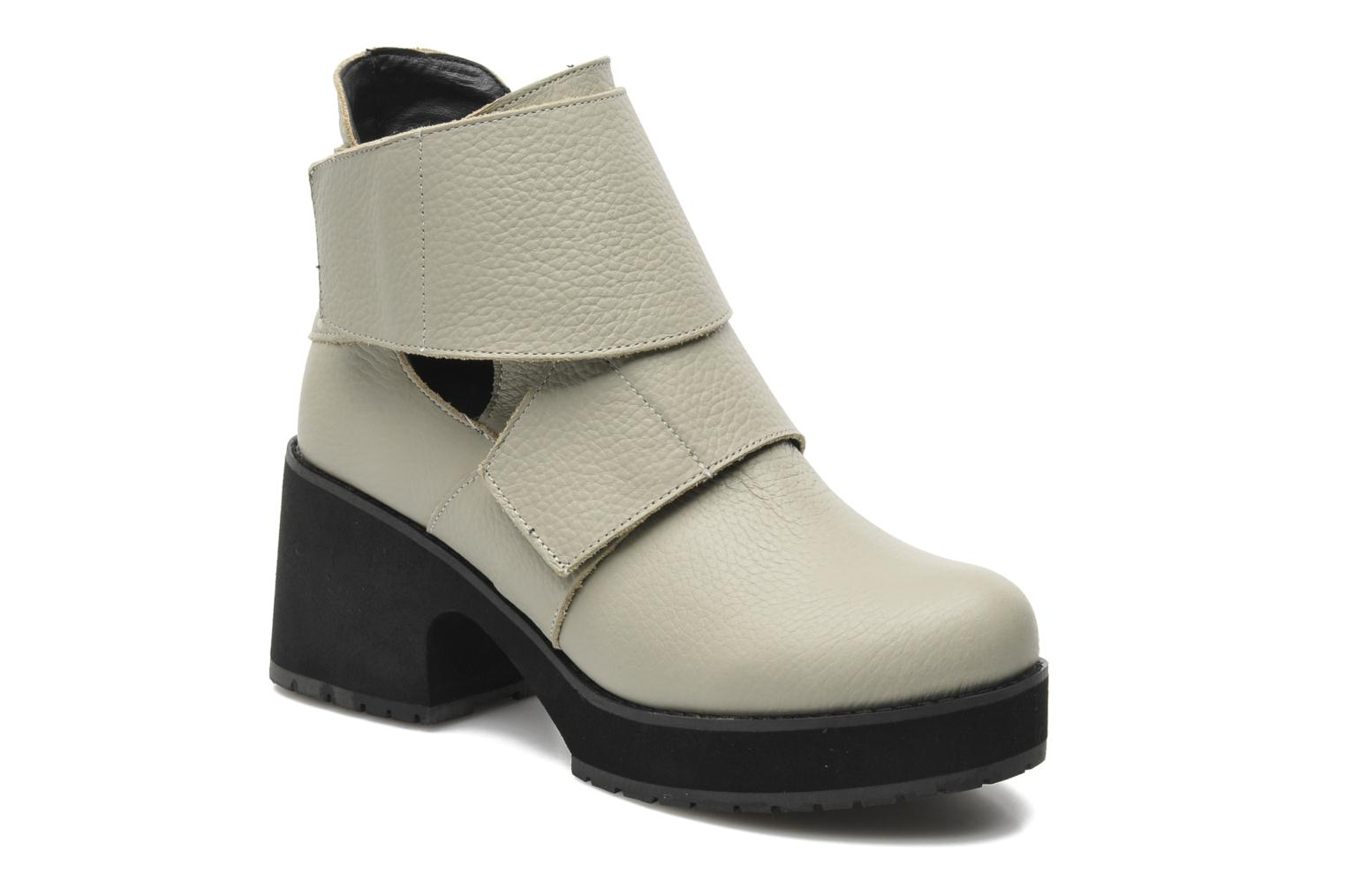 Ankle boots Shellys London Mieri Beige detailed view/ Pair view