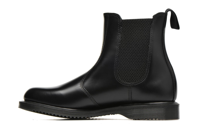 Stiefeletten & Boots Dr. Martens Flora schwarz ansicht von vorne