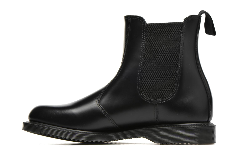 Bottines et boots Dr. Martens Flora Noir vue face