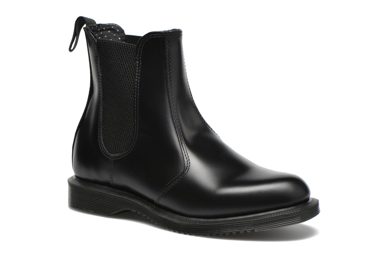 Bottines et boots Dr. Martens Flora Noir vue détail/paire