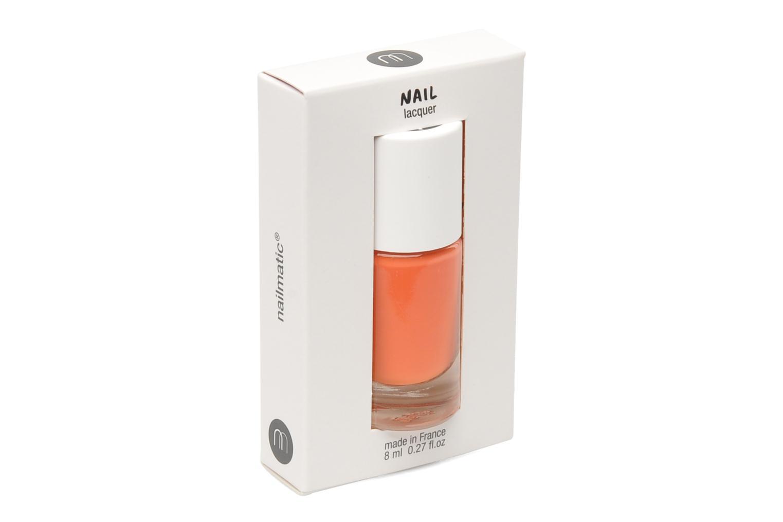 Beauty-Artikel Nailmatic Nagellack orange schuhe getragen