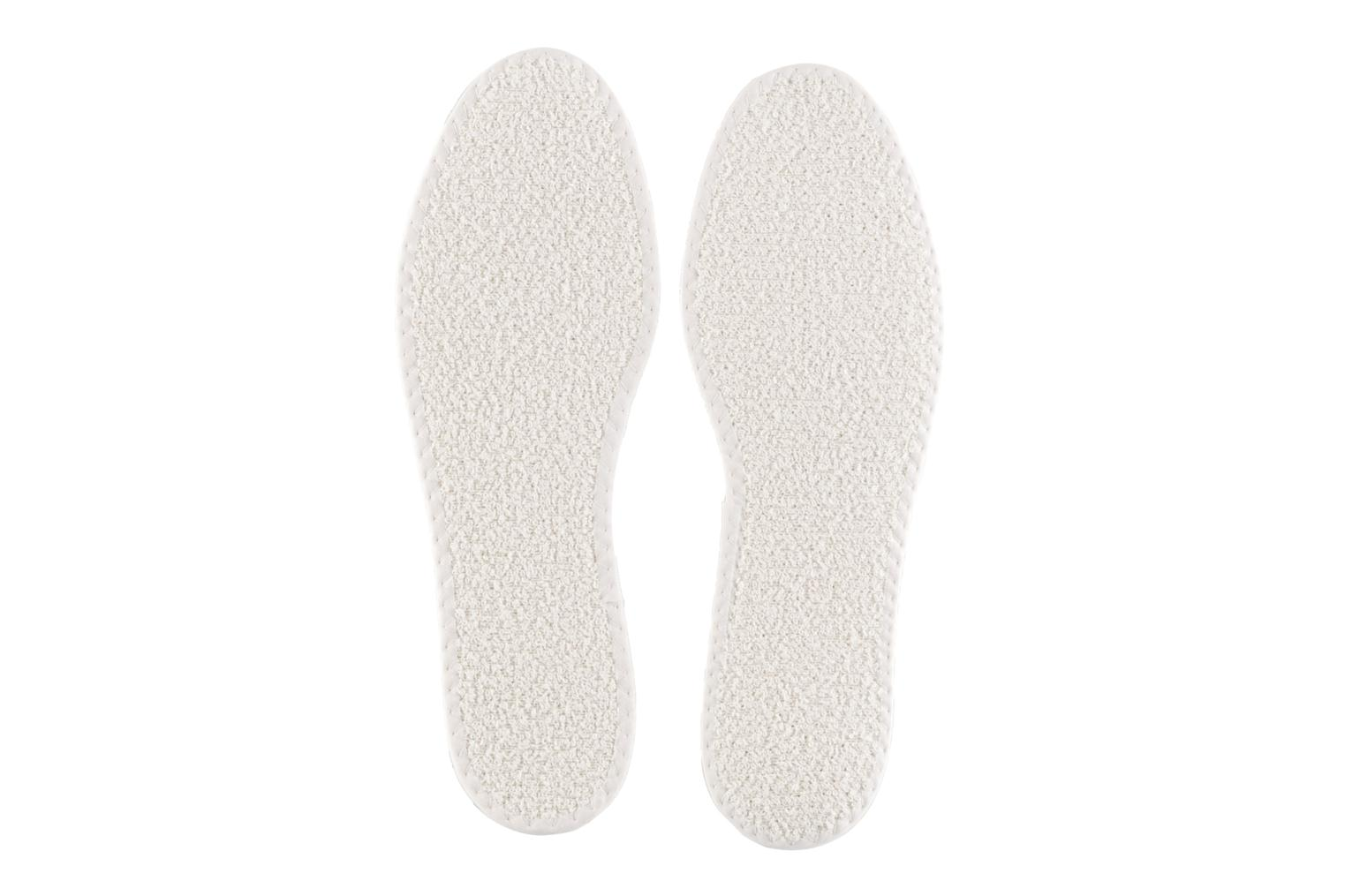 Men's Famaco Tropicale cotton insole Blanche