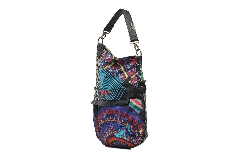 Bolsos de mano Desigual Folded Estambul Multicolor vista del modelo