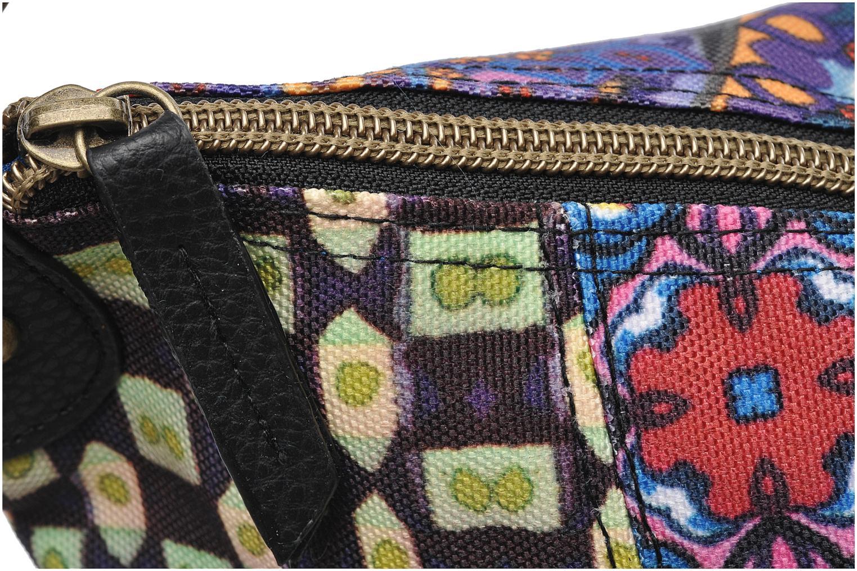 Bolsos de mano Desigual Folded Estambul Multicolor vista lateral izquierda