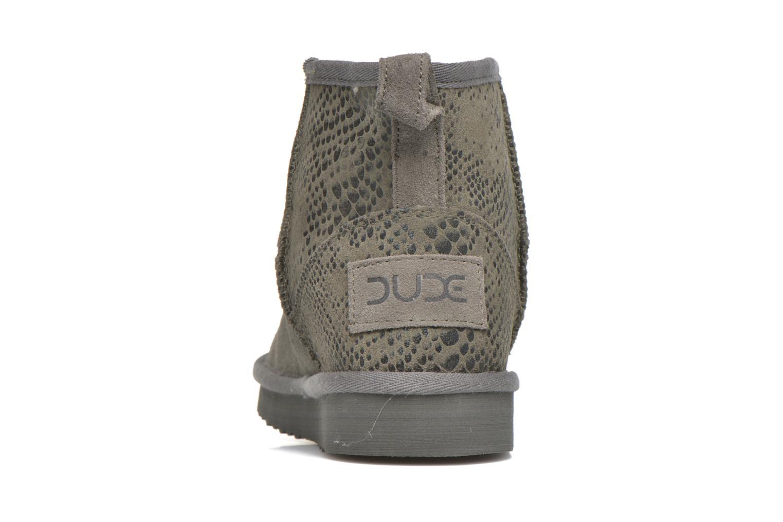 Bottines et boots DUDE Sella Gris vue droite