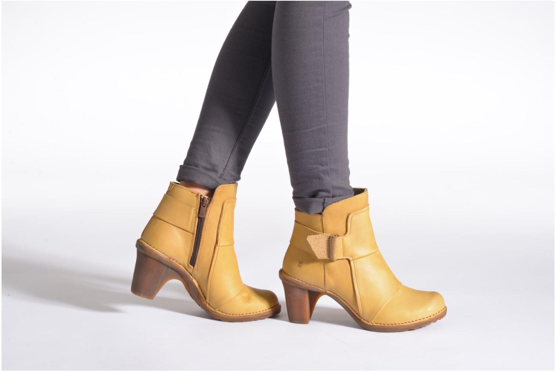 Bottines et boots El Naturalista Duna N566 Noir vue bas / vue portée sac