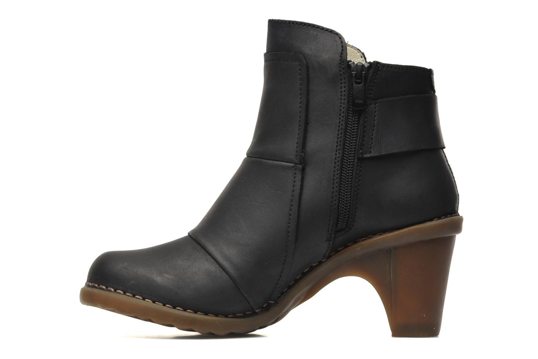 Bottines et boots El Naturalista Duna N566 Noir vue face