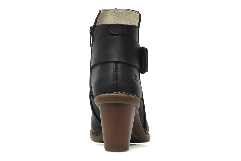 Bottines et boots El Naturalista Duna N566 Noir vue droite