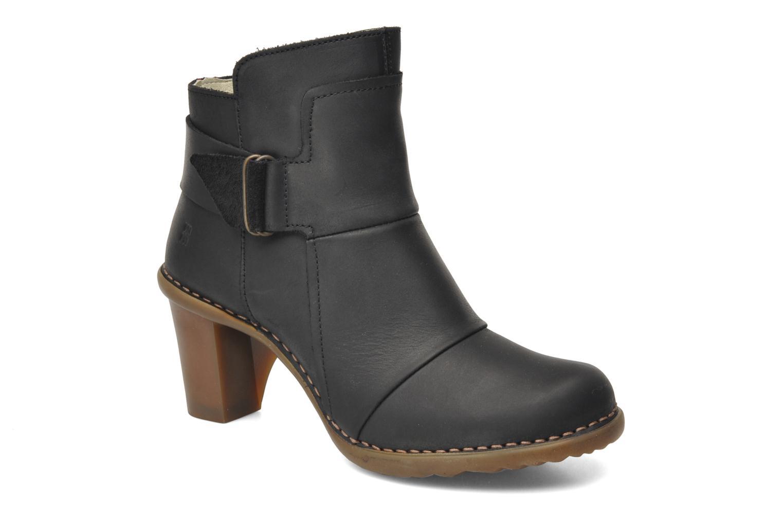 Bottines et boots El Naturalista Duna N566 Noir vue détail/paire