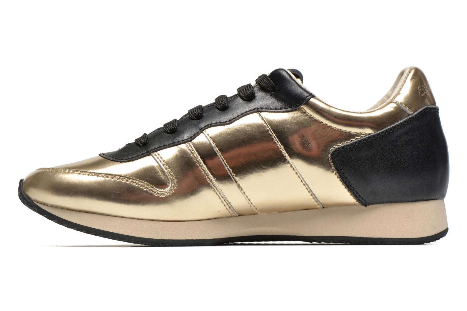 Sneakers Shoe the bear Trainer Guld og bronze se forfra