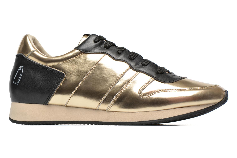 Deportivas Shoe the bear Trainer Oro y bronce vistra trasera
