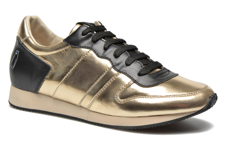 Deportivas Shoe the bear Trainer Oro y bronce vista de detalle / par