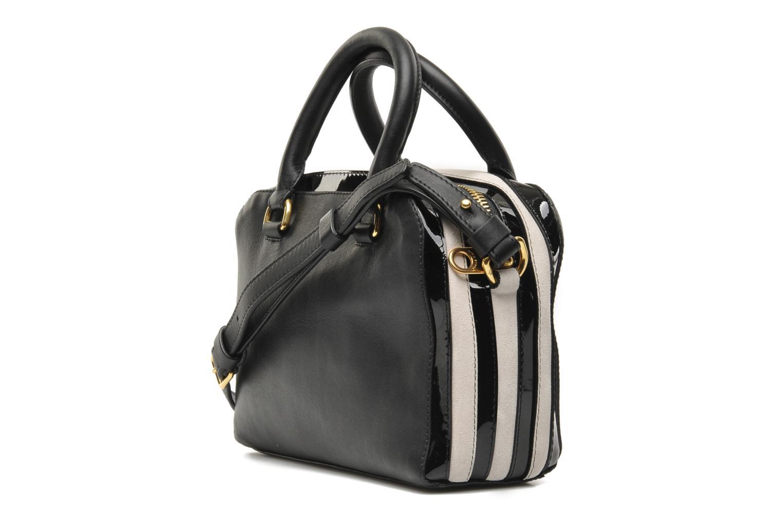 Handtaschen Sonia Rykiel LUCIEN Boston schwarz ansicht von rechts