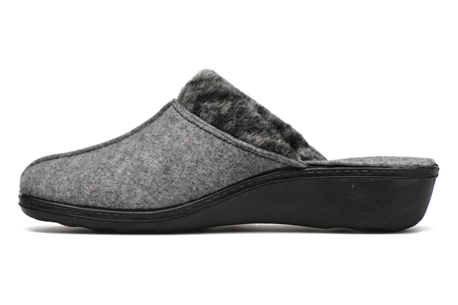Chaussons Romika Romilastic 392 Gris vue face