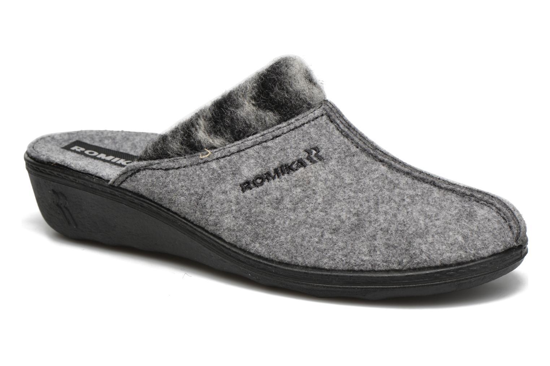 Pantoffels Romika Romilastic 392 Grijs detail